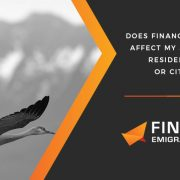 Does financial emigration affect my South African residency status or citizenship?
