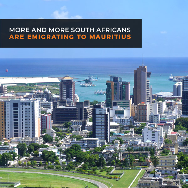 More and more South Africans are emigrating to Mauritius