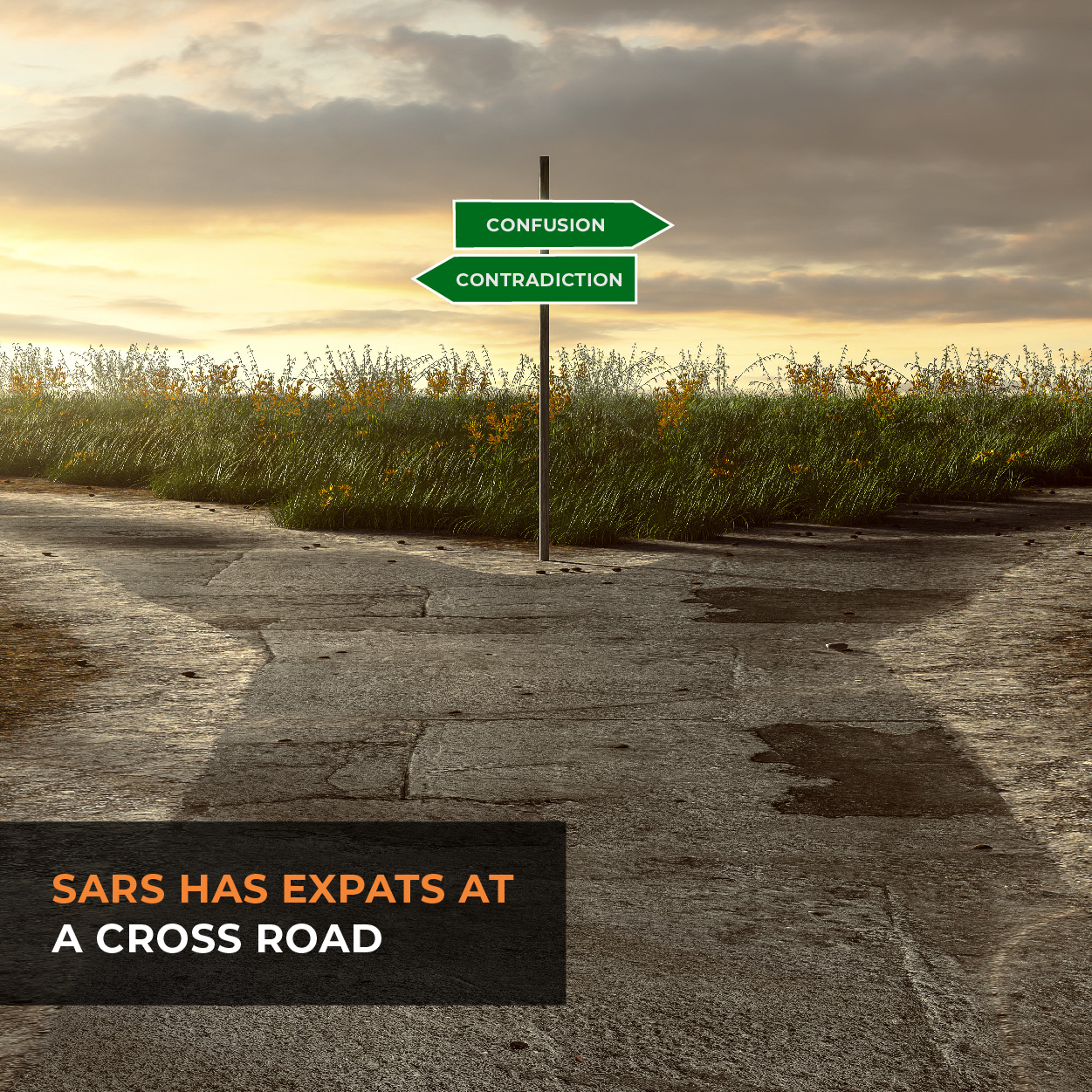 SARS has expats at a cross road