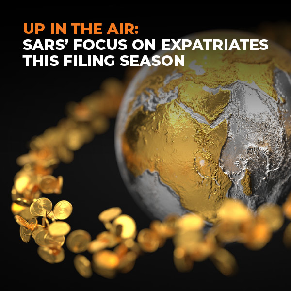 Up In The Air-Sars' Focus on Expatriates This Filing Season